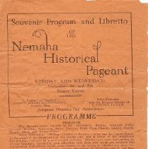 Image of Pageant Program