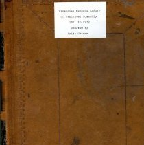 Image of Book - Financial Records - Neuchatel township 1874-1900