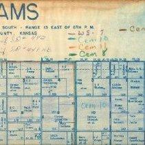 Image of Map - Adams Township, South 3 Range 13