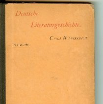 Image of Book - Deutche Literaturgeschichte
