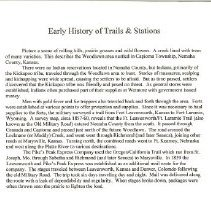 Image of Huffman, History of Trails & S