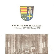Image of Holthaus, Frank Henry Family H