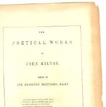 Image of Book - The Poetical Works of John Milton