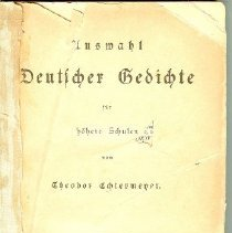 Image of Deutscher Gedichte