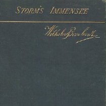 Image of Book - Storm's Immensee