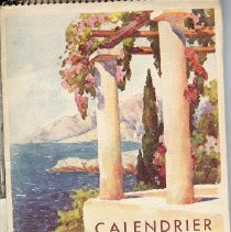 Image of French calendar