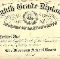 Image of Eight Grade Diploma, Margaret
