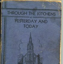 Image of Book - Through The Kitchens, Yesterday and Today