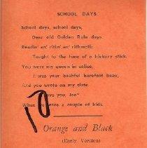 Image of SHS Alumni Poem