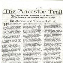 Image of Ancestor Trail, Railboad