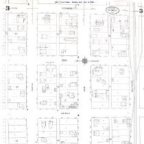 Image of 1924 Map West Main St. Seneca