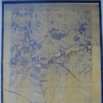 Image of Map - Early Trails N/W of Seneca, Clear Creek vicinity 1845