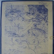 Image of Map - Early Trails near Sparks Ks.