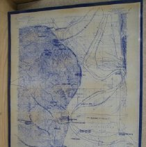 Image of Map - Early Trails near Wathena
