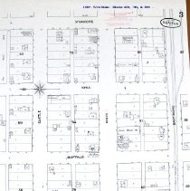 Image of 1889 Map West Main St. Seneca,