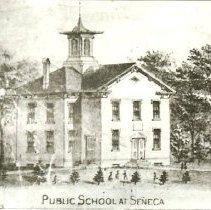 Image of Public School at Seneca : 1877