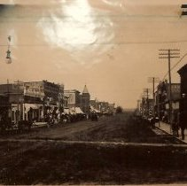 Image of Main Street in Seneca, Ks.