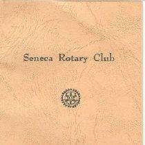 Image of Seneca Rotary club Souvnir boo