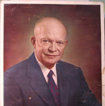 Image of President Dwight  Eisenhower,