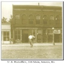 Image of Seneca Postoffice 1908