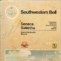 Image of Book - SWB Telephone Directory 1986-87