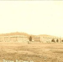 Image of Postcard - Barracks, Fort Lewis, WA
