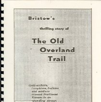 Image of Overland Trail Booklet
