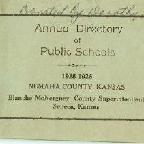 Image of School Directory for the Publi