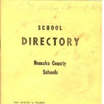 Image of School Directory Nrmaha County