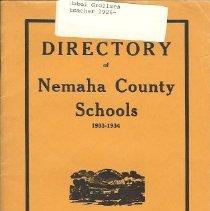 Image of Directory of Nemaha County Sch