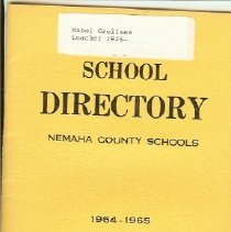 Image of Directory Nemaha County School