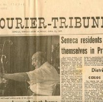 Image of Newspaper - The Courier Tribune
