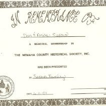 Image of Memorials - Certificates
