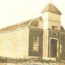 Image of Marion Township Hall, 1901