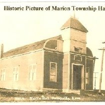 Image of Marion township Hall - 1901 (2