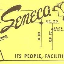 Image of Brochure - yellow Seneca brochures (5)