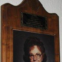 Image of Amelia Sudbeck Plaque