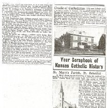 Image of Disk, Magnetic - Your Scrapbook of kansas Catholic History, St. Mary's Parish, St. Benedict (294 pages)