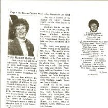 Image of Documents - Obituary of Edith Rettele Bjelland