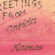 Image of Post Card from Oneida