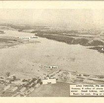 Image of Post Card of Lake Nemaha, 1934