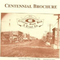 Image of Booklet - Centennial Brochure