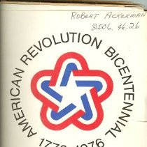 Image of Folder, File - American Revolution Bicentennial