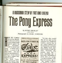 Image of Pony Express Collection