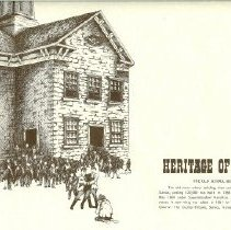"Image of Drawing - Heritage of Seneca ""The Old School Building"""