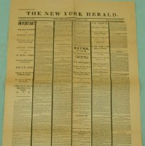 Image of New York Herald Reproduction
