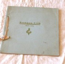 Image of Bookman Club Program