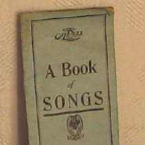 Image of A Book of Songs