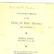 Image of 1901 FWC Program