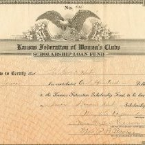 Image of Certificate of Donation - FWC